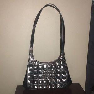 Chanel Matelasse Chocolate Bar Shoulder Bag